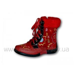 обуви Зимняя обувь фирмы Капика - кожаные сапоги и ботинки Фирменный Интернет-магазин детской подростковой обуви